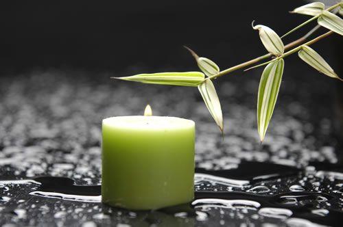 greeb candle