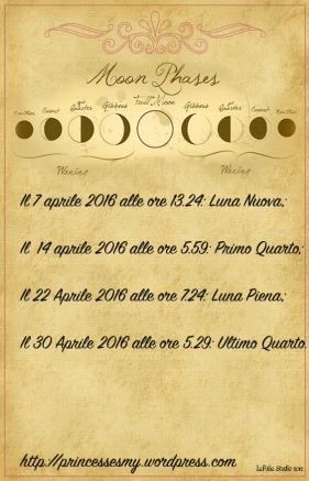 almanacco luna