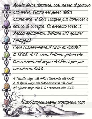 almanacco sole