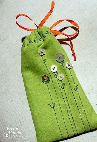 green sachet